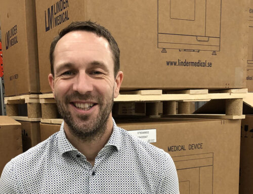 Johan Wideman CEO for Linder Medical