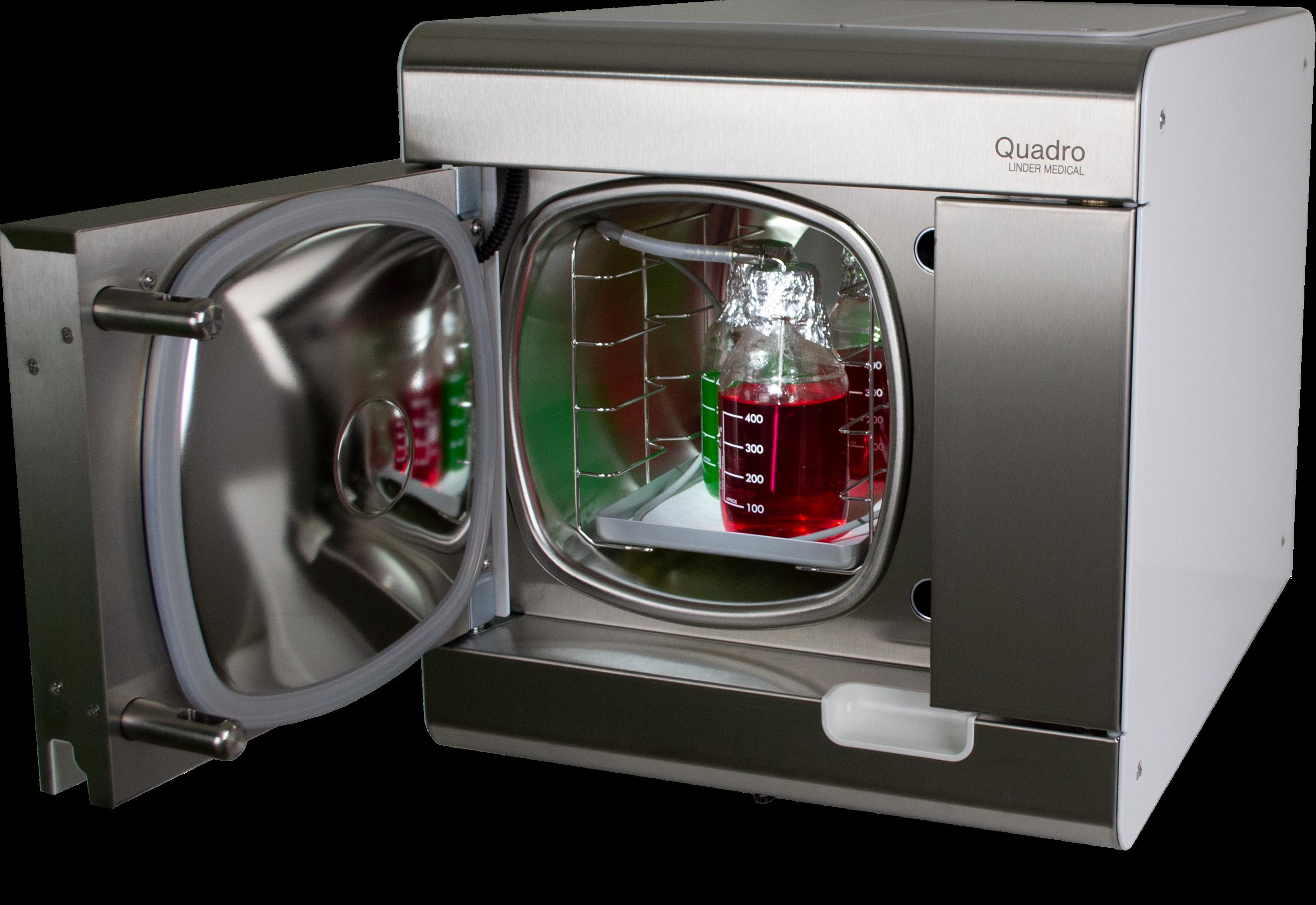 Quadro Lab with fluids